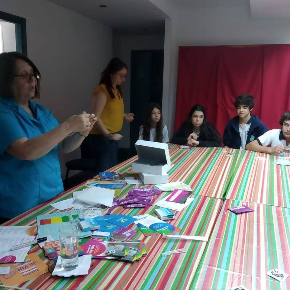 Charla sobre métodos anticonceptivos