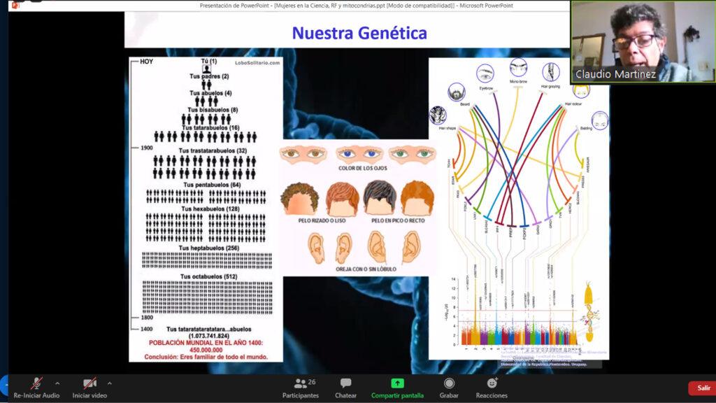Charla de ADN